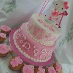 torta de niña con Kitty