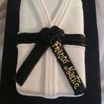 Torta karate cinturón negro