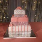 torta de 15 con brillos