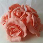 detalle de flores de azúcar