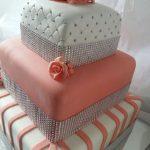 torta quince con brillos