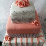 torta 15  de 3 pisos