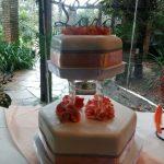 torta de 15 dos pisos