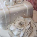 torta decorada para boda