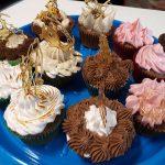 Cupcakes decorados por alumnos